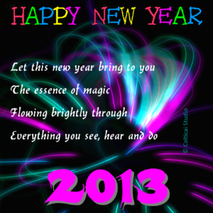 Celticai New Year Greetings