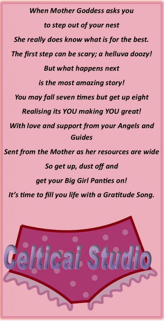 Big Girl Panties poem