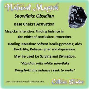 Snowflake Obsidian - a Summary