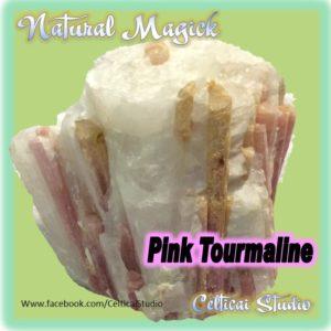 Pink Tourmaline - Celticai Studio