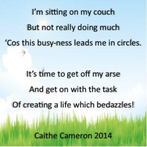 Get off My Arse - a Brolin Poem